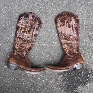 Old gringo Myra brown cowboy boots size 10